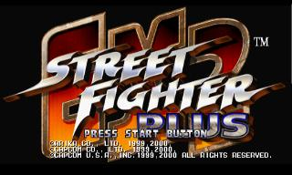 Screenshot Thumbnail / Media File 1 for Street Fighter EX2 Plus [NTSC-U]